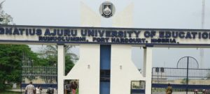 Ignatius Ajuru University iaue admission
