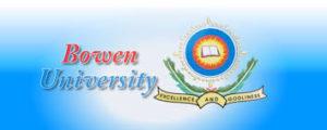 BOWEN UNIVERSITY 2016/2017 ADMISSION LIST 1st-5th Batch released