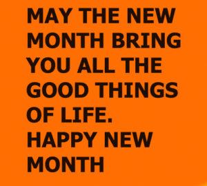 Happy new month 4