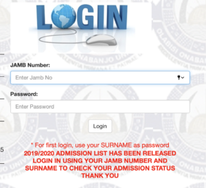 How to Check OOU Admission List