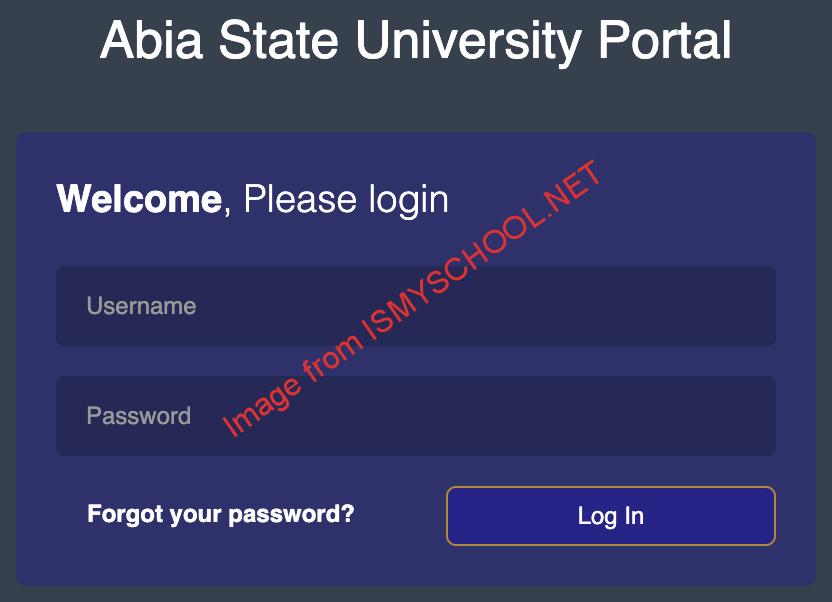 absu portal login page for virtual school