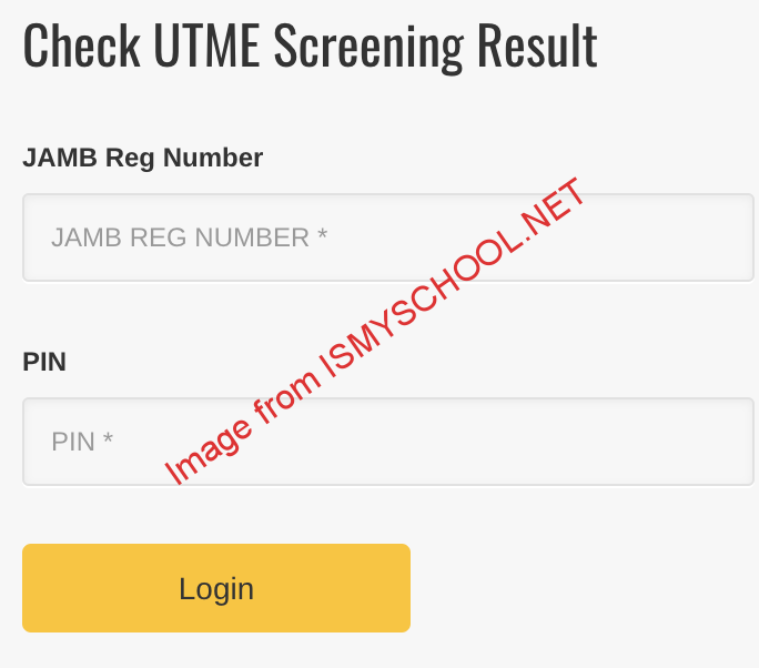 check result on unical portal