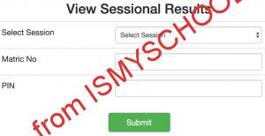EBSU result checking portal