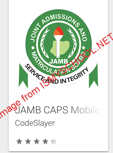 jamb caps mobile app search