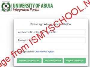 uniabuja portal login page