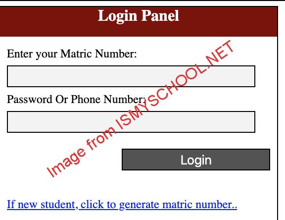 unical postgraduate pg portal login