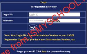 unilorin undergraduate portal login